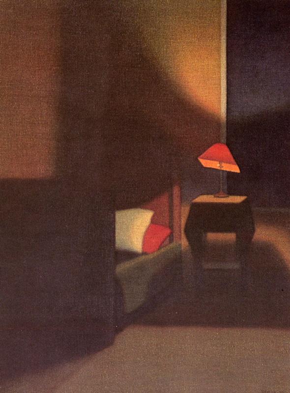 Стефан Йоханссон. Тени в спальне