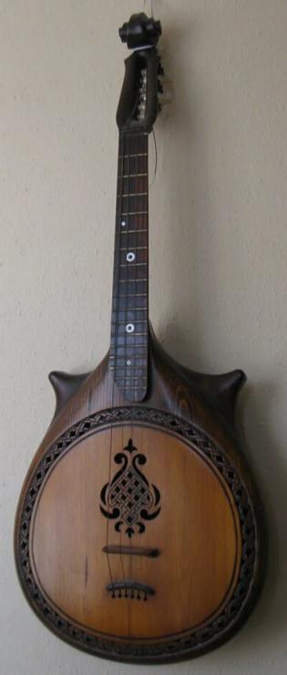 Sergey Khristoforovich Arnaut. Musical instrument.