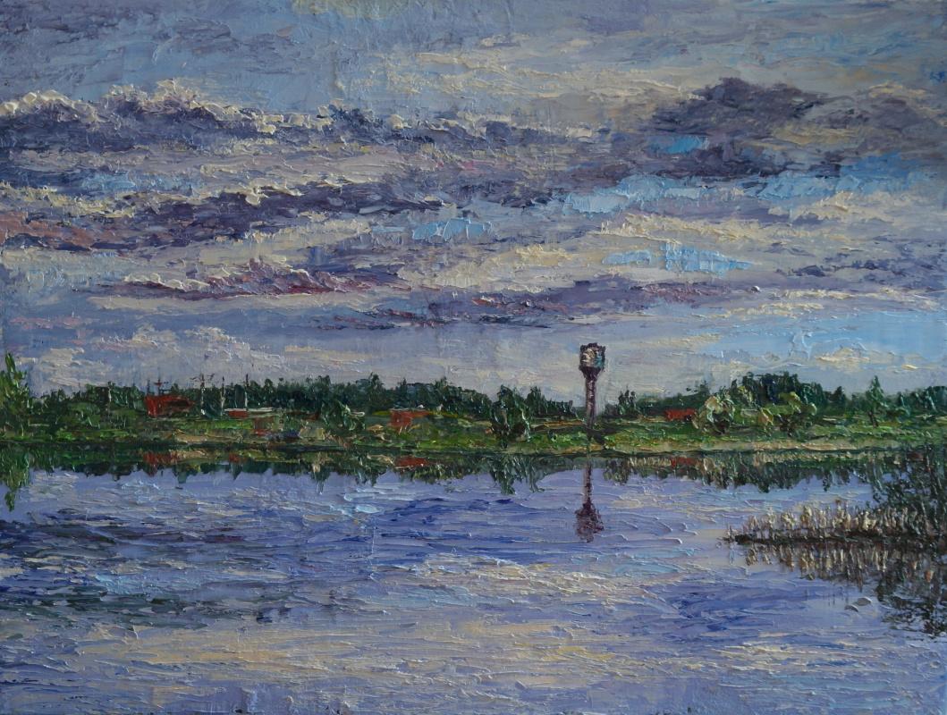 Irina Viktorovna Korotoyakskaya (Dronova). Sketch from fishing