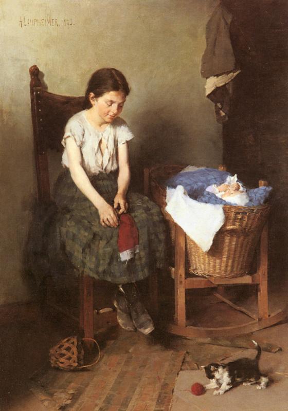 Антон Лаупхеймер. Старшая сестра