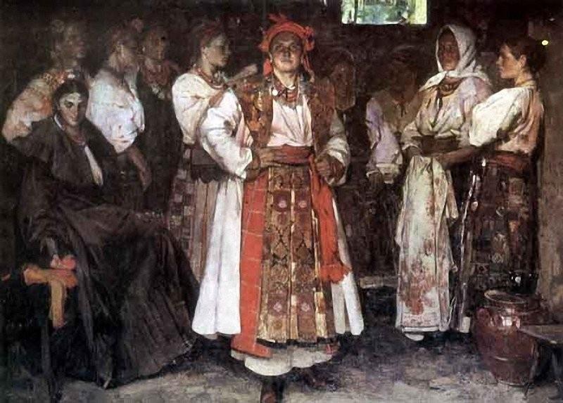 Фёдор Григорьевич Кричевский. Невеста