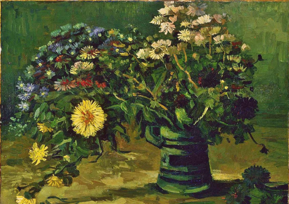 Vincent van Gogh. Vase with daisies