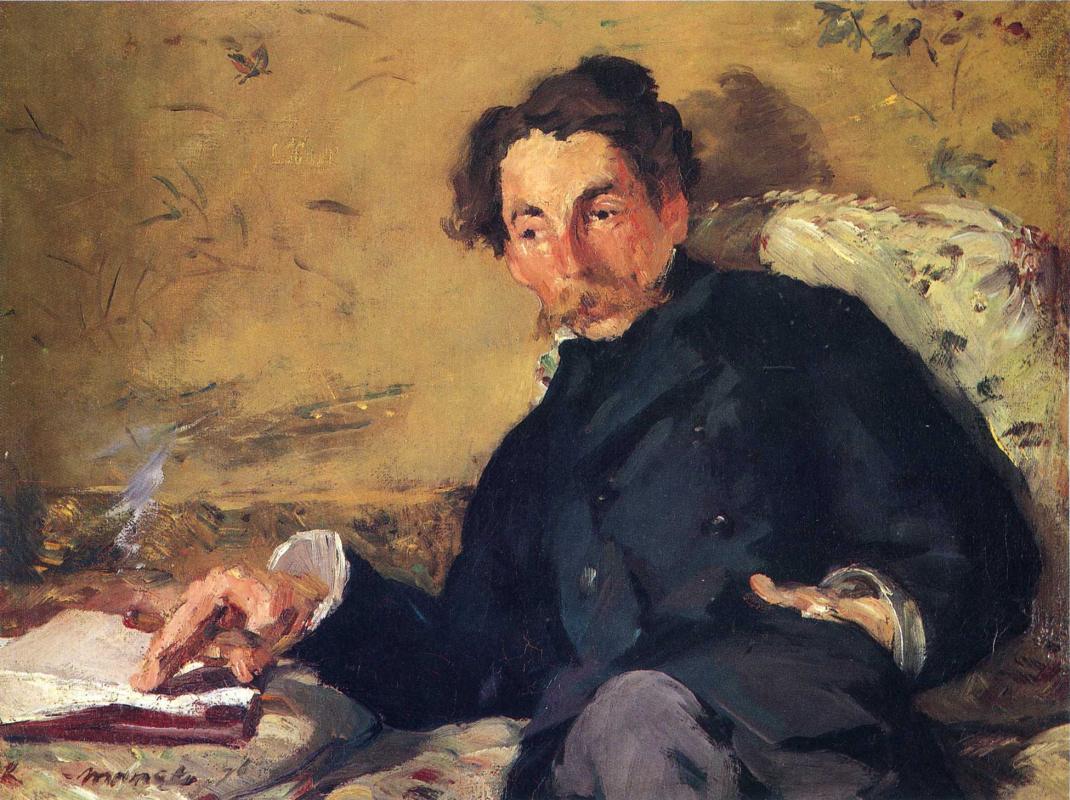 Edouard Manet. Stéphane Mallarmé