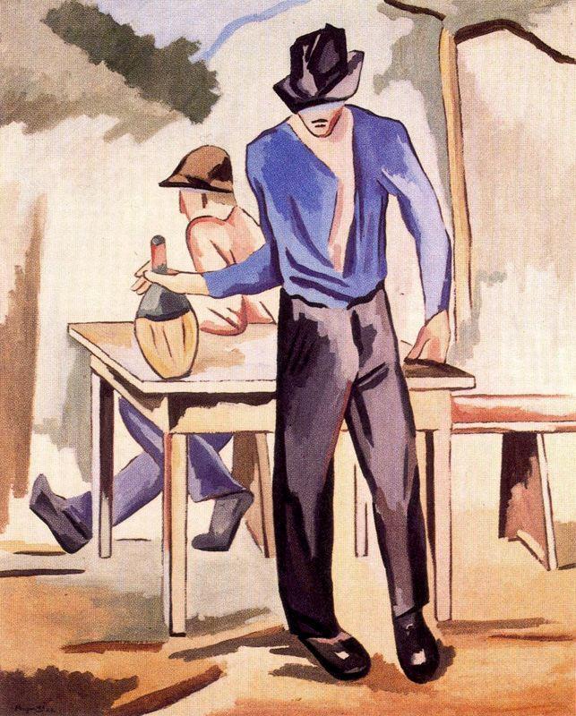Альберто Магнелли. Мужчины