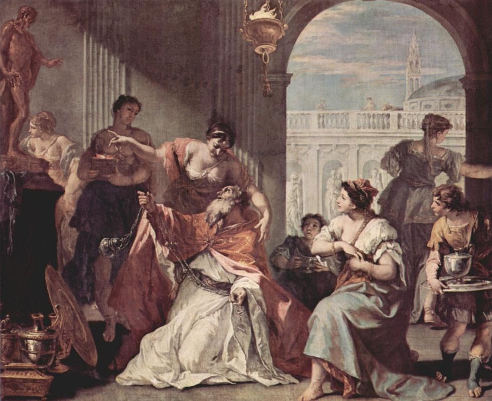 Себастьяно Риччи. Соломон - идолопоклонник