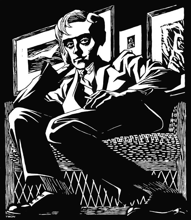 Мауриц Корнелис Эшер. Автопортрет в кресле