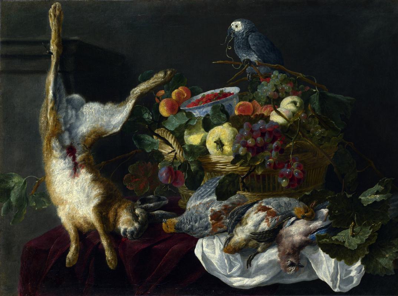 Ян Фейт. Натюрморт с фруктами