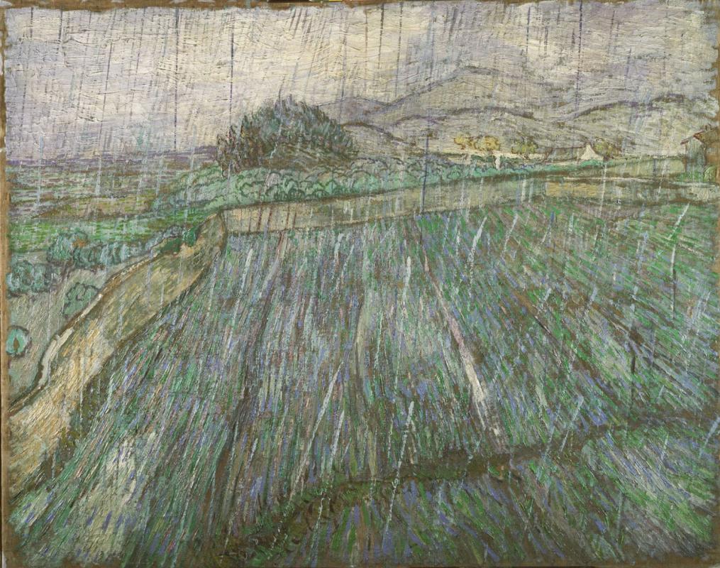 Vincent van Gogh. Rain