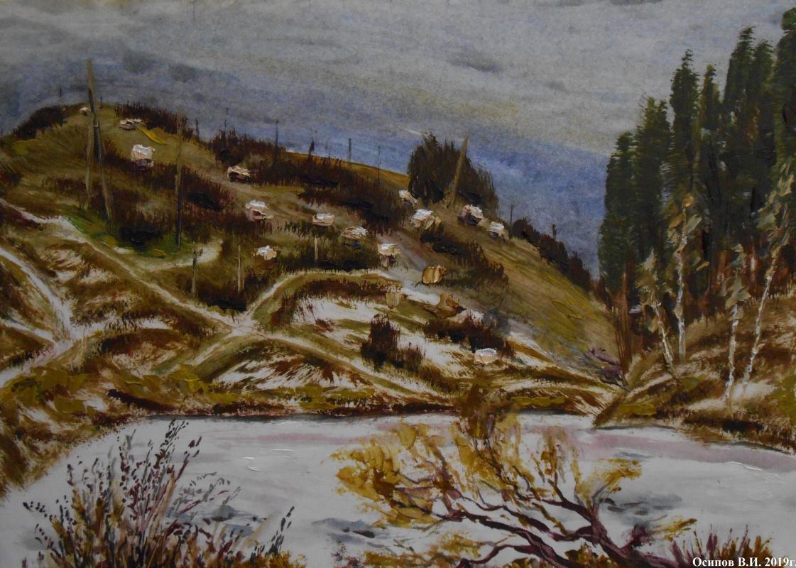 Владимир Иванович Осипов. Venev cottages