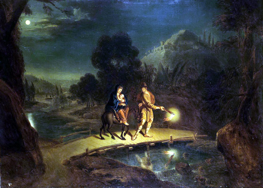 Иоган Пауль Людден. Бегство в Египет