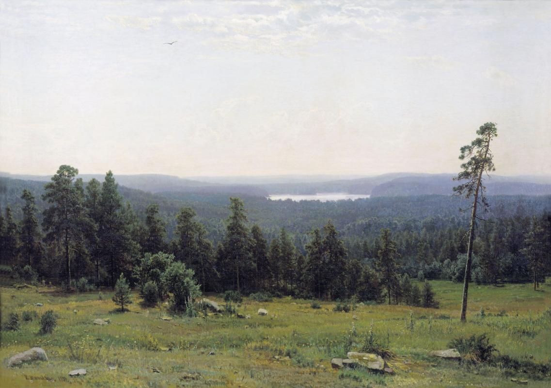 Ivan Shishkin. The forest horizons