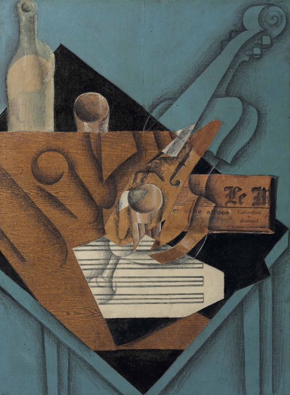 Хуан Грис. Стол музыканта