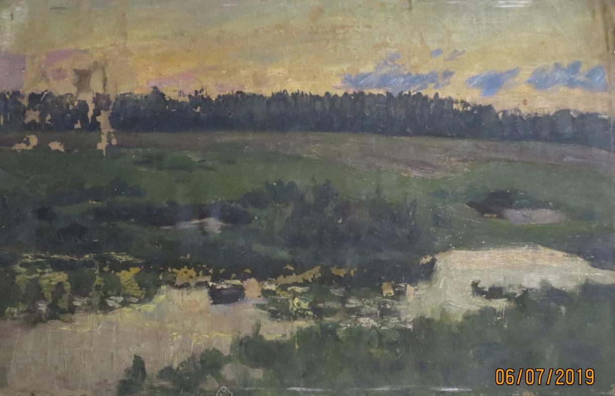 V.V. Honorsky. On the Sunset