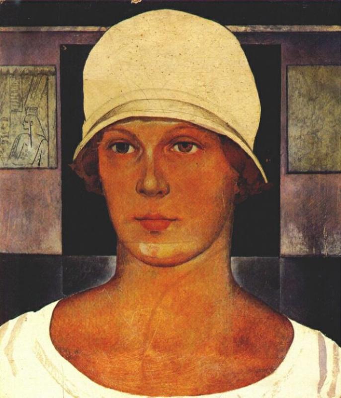 Николай Александрович Ионин. Жена художника