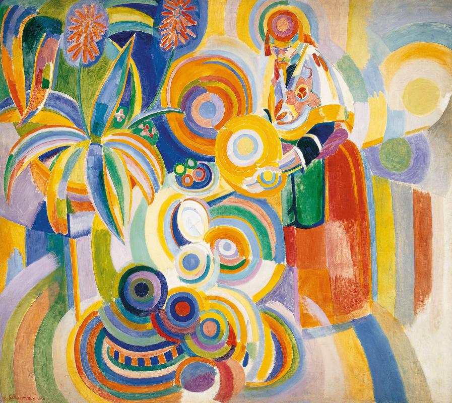 Robert Delaunay. Portuguese woman