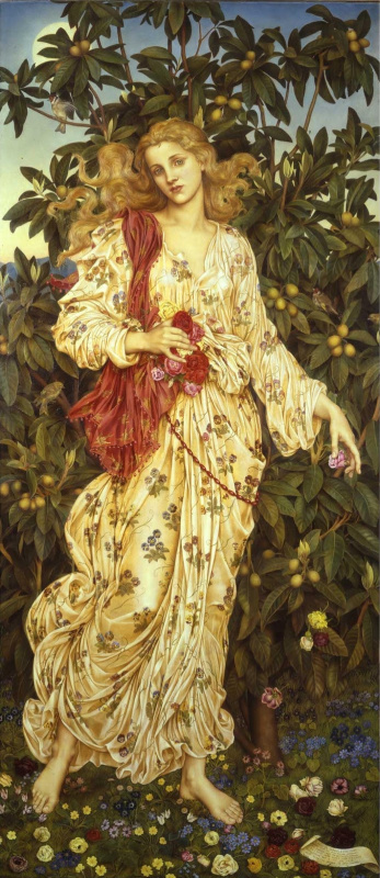 Evelyn De Morgan (Pickering). Flora