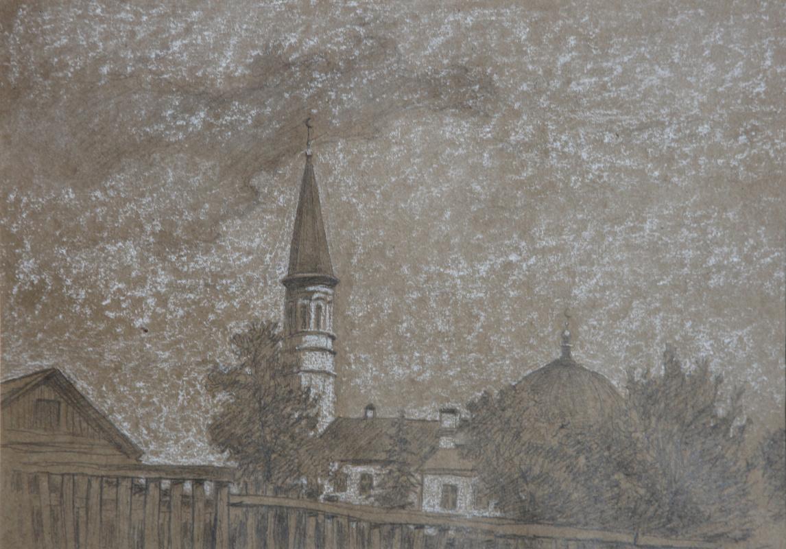 """Сергей Георгиевич Леконцев. """"Mosque"""""""