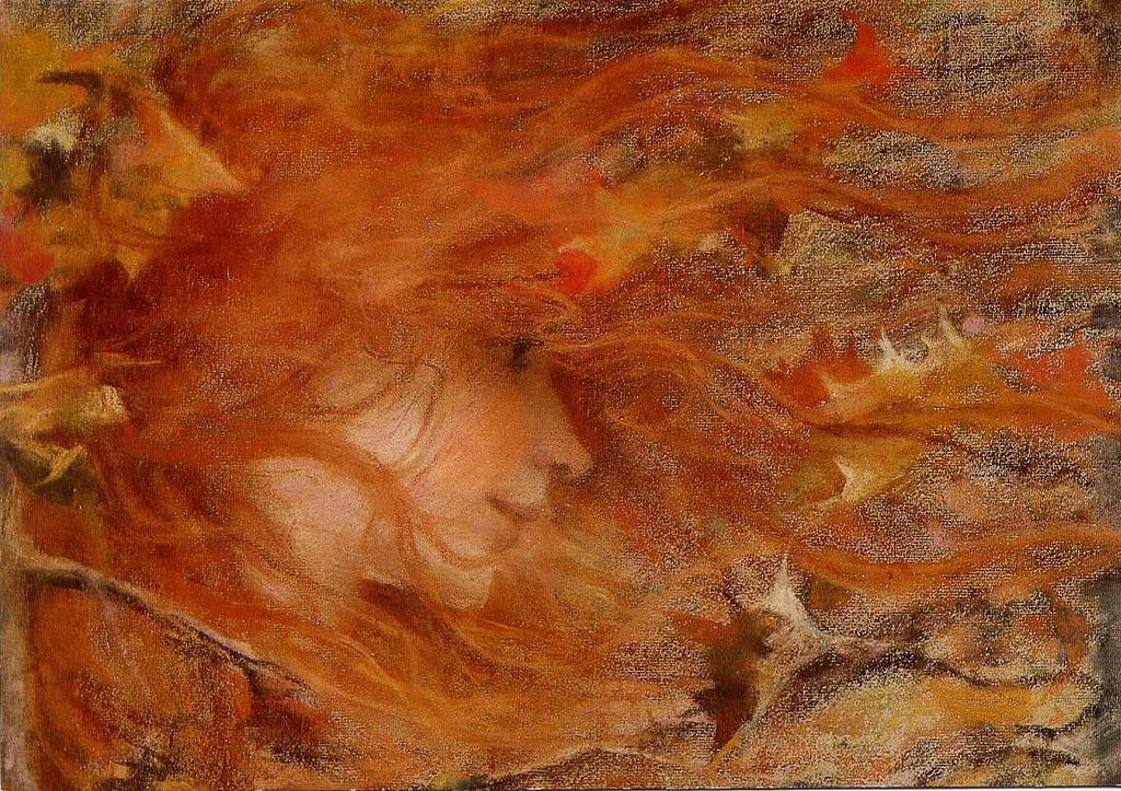 Lucien Levi-Durme. A gust of autumn wind
