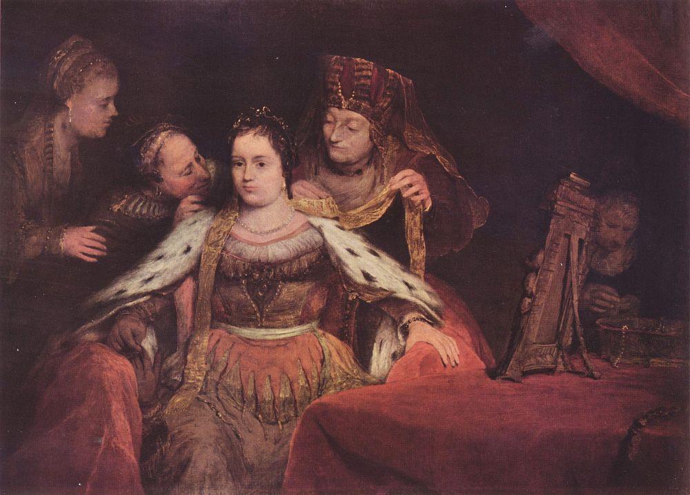 Арт Йоханс де Гелдер. Еврейская невеста