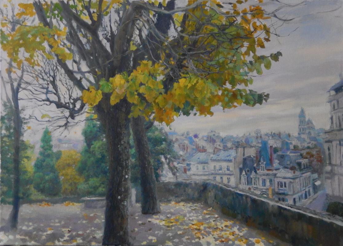 Dmitry Nayda. Autumn.Blois