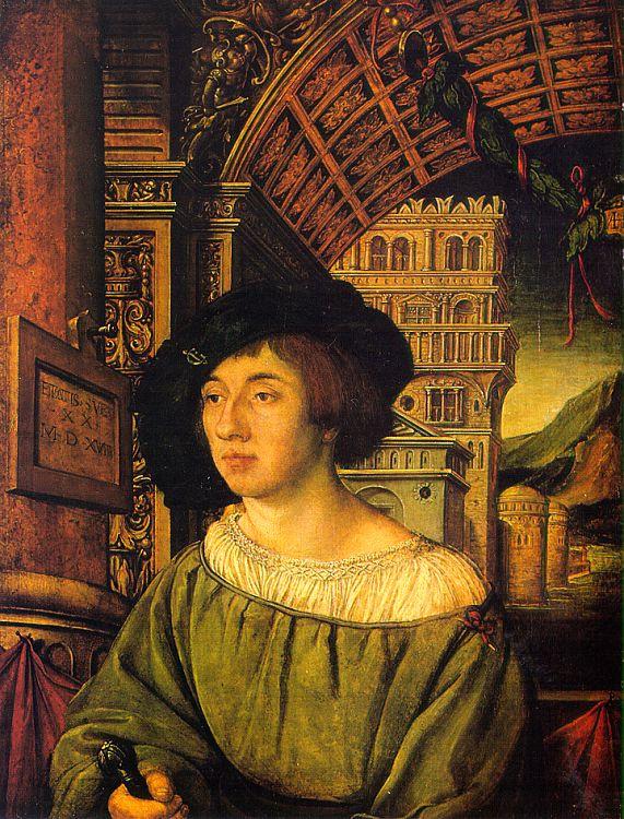 Амброзиус Гольбейн. Портрет молодого человека