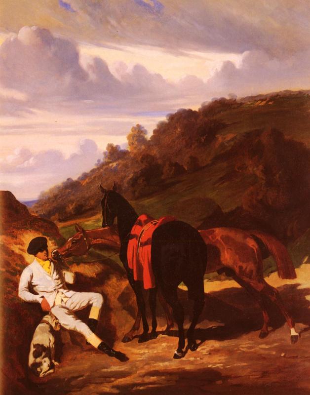 Альфред Дедрё. Черный конь