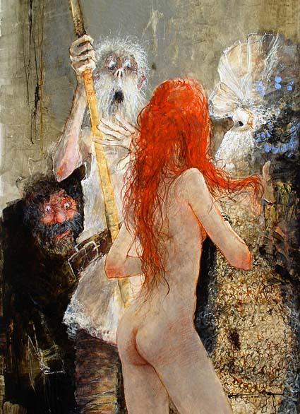 Marcel Pajot. Seduction Of Don Quixote