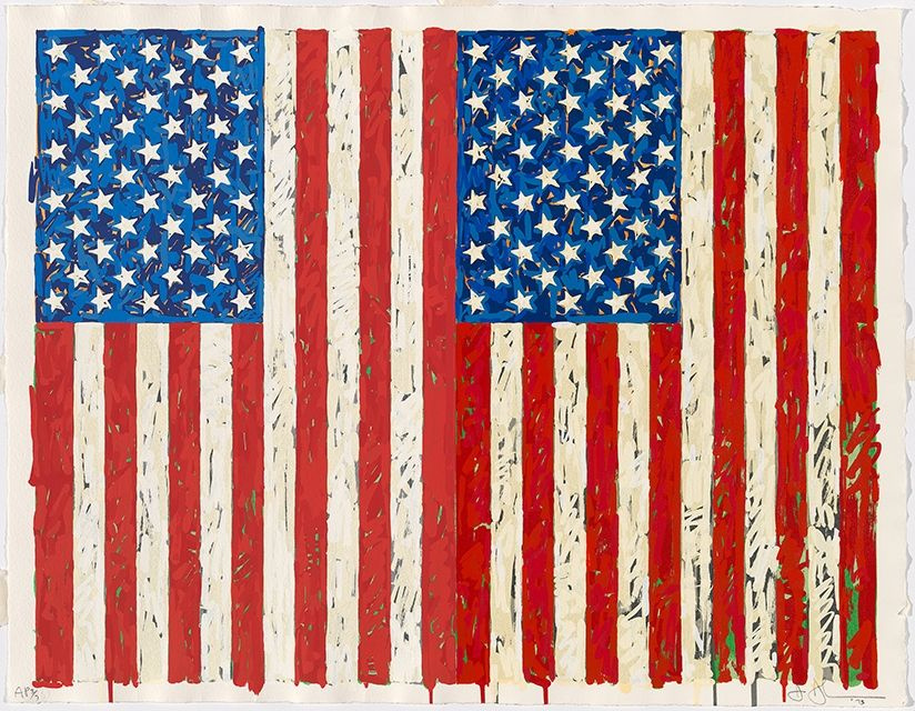 Джаспер Джонс. Флаги