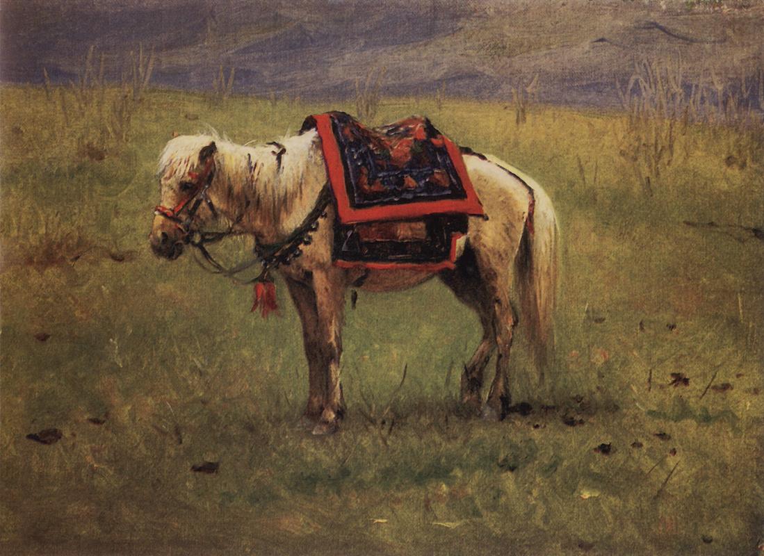 Василий Васильевич Верещагин. Гималайский пони