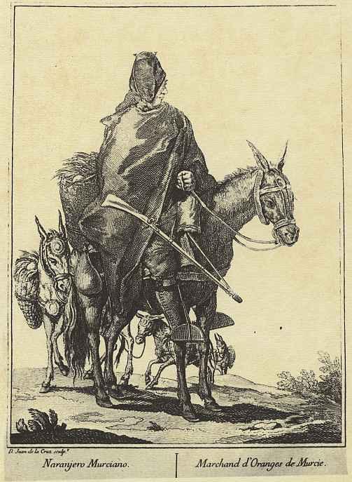 Хуан де ла Крус Кано-и-Ольмедилья. Продавщица апельсинов из Мурсии