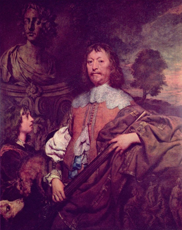 William Dobson. Portrait Of Endymion Porter