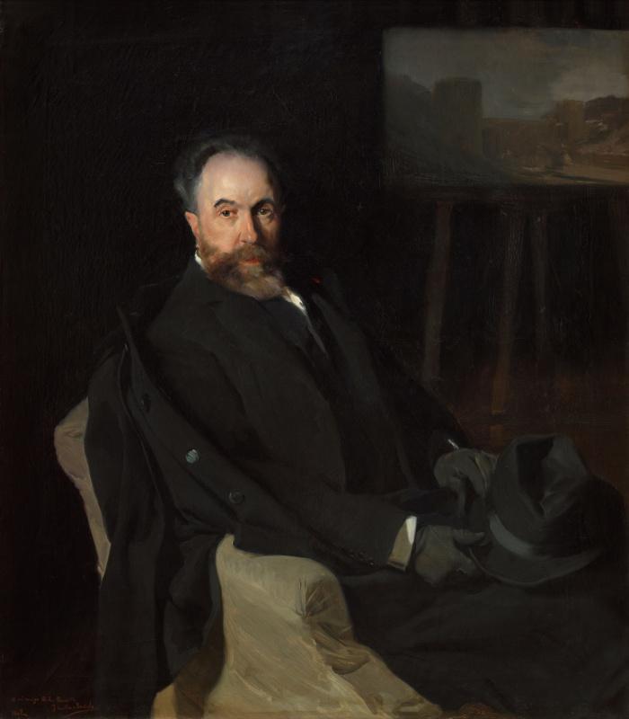 Joaquín Sorolla. Portrait of don Aureliano de Beruete