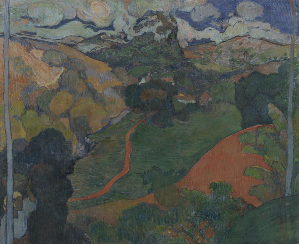 Charles Laval. Landscape on Martinique