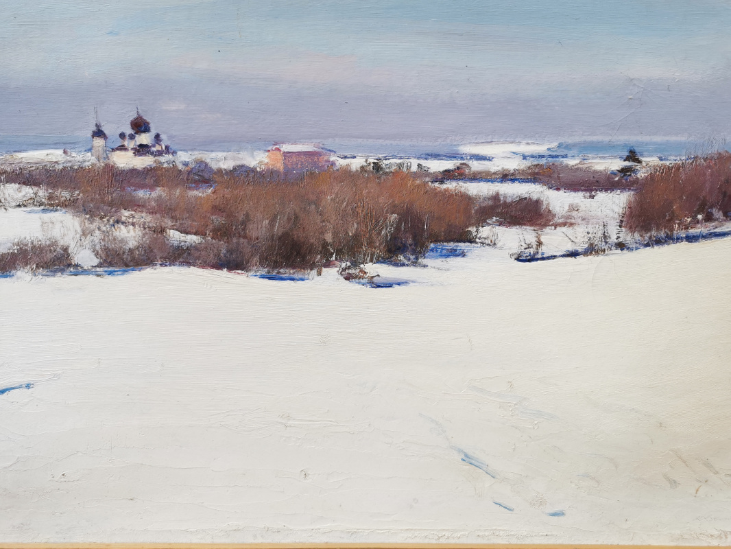 Konstantin Sergeevich Belokurov. Dali Staraya Ladoga