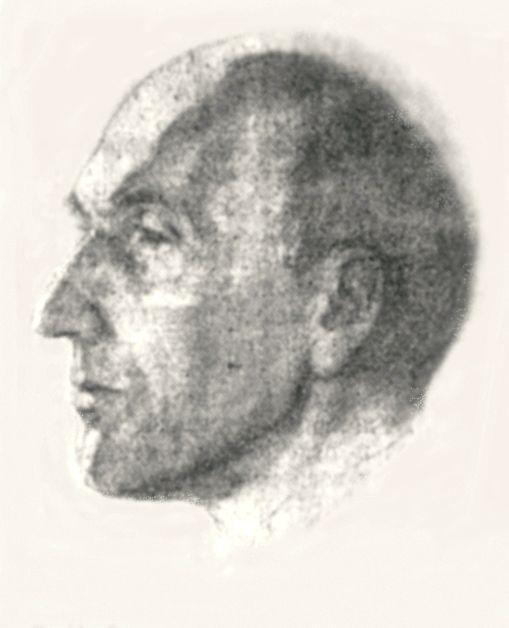 Евгений Евгеньевич Климов. Портрет архитектора С.Н.Антонова