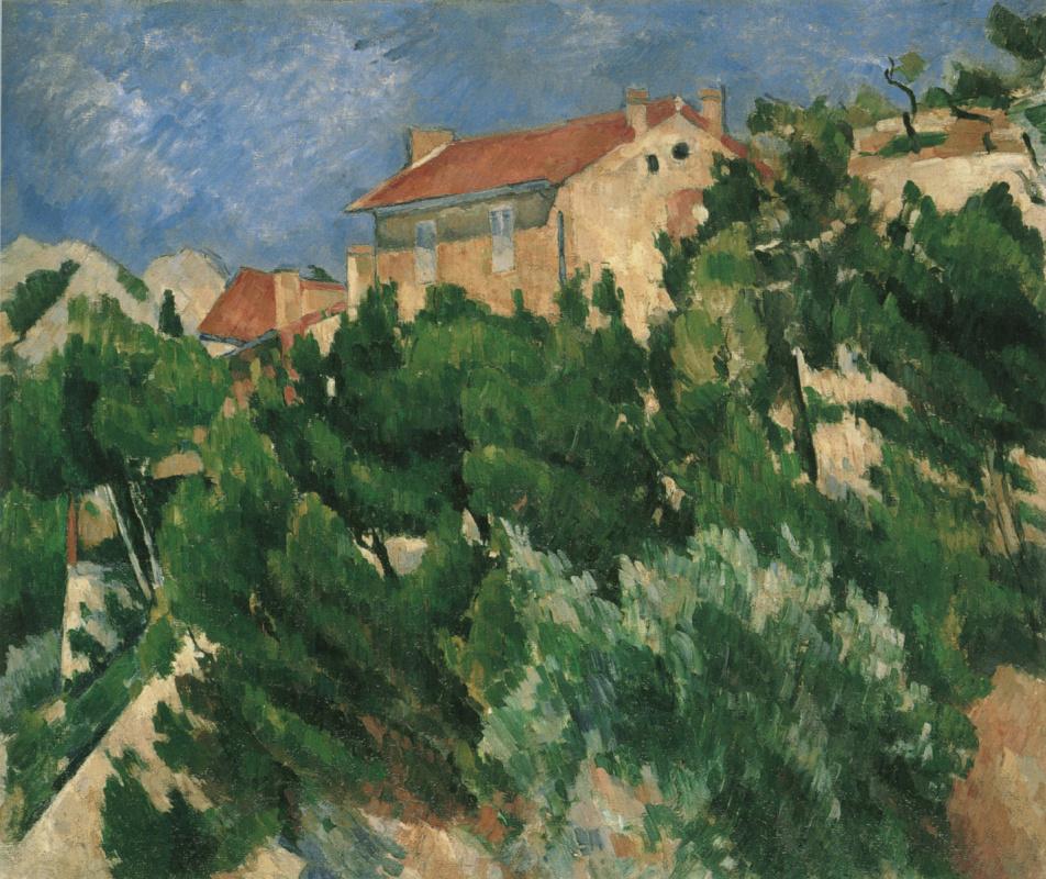 Paul Cezanne. Landscape in Provence
