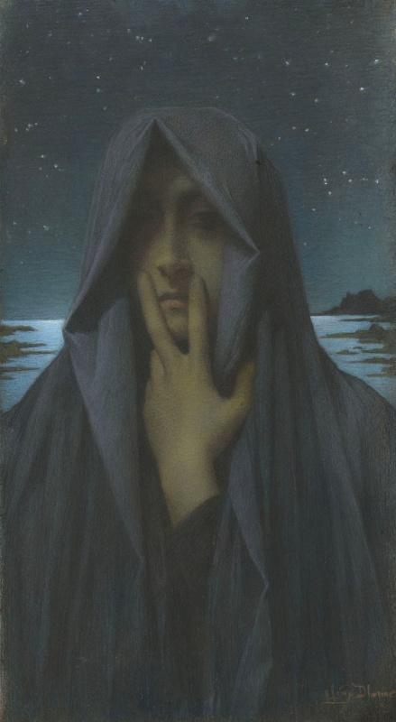 Lucien Levi-Durme. Silence. 1895