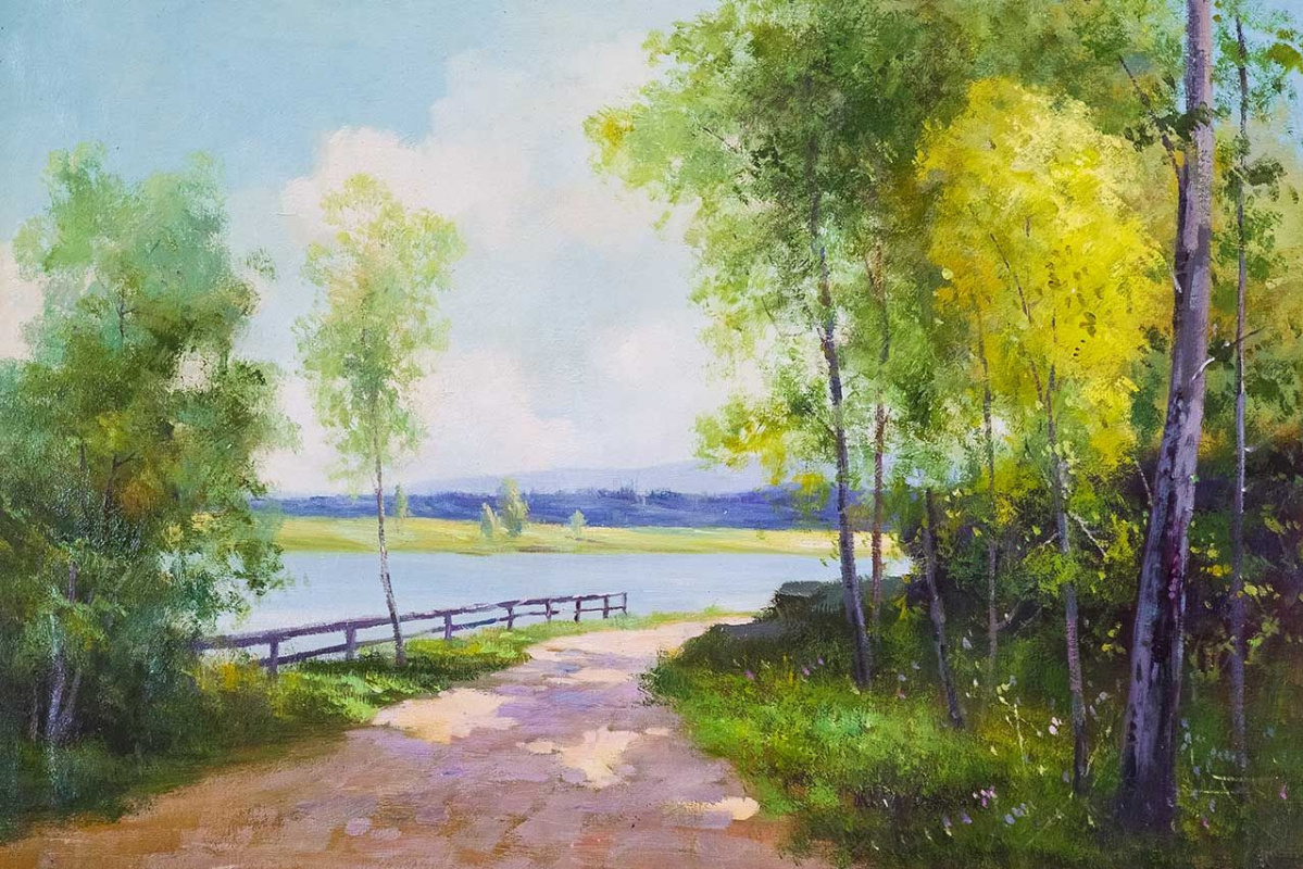 Andrey Sharabarin. On the road to the river