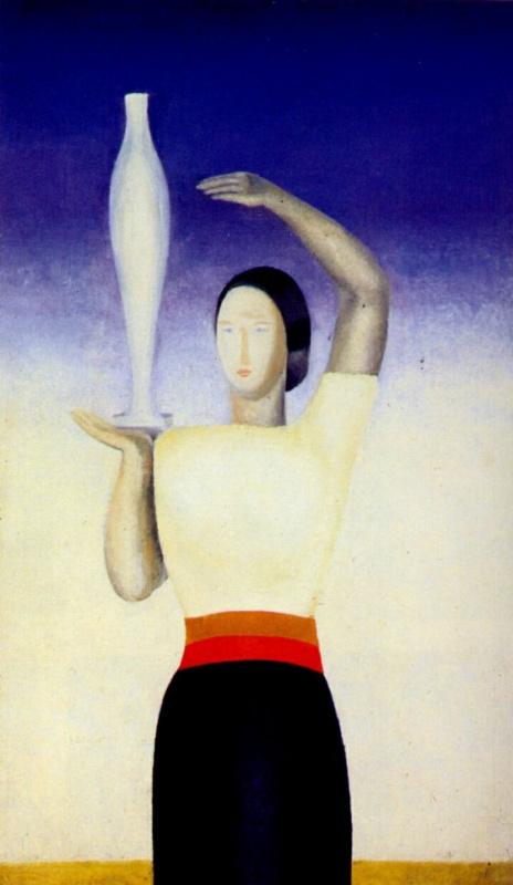 Анна Александровна Лепорская. Женщина с вазой
