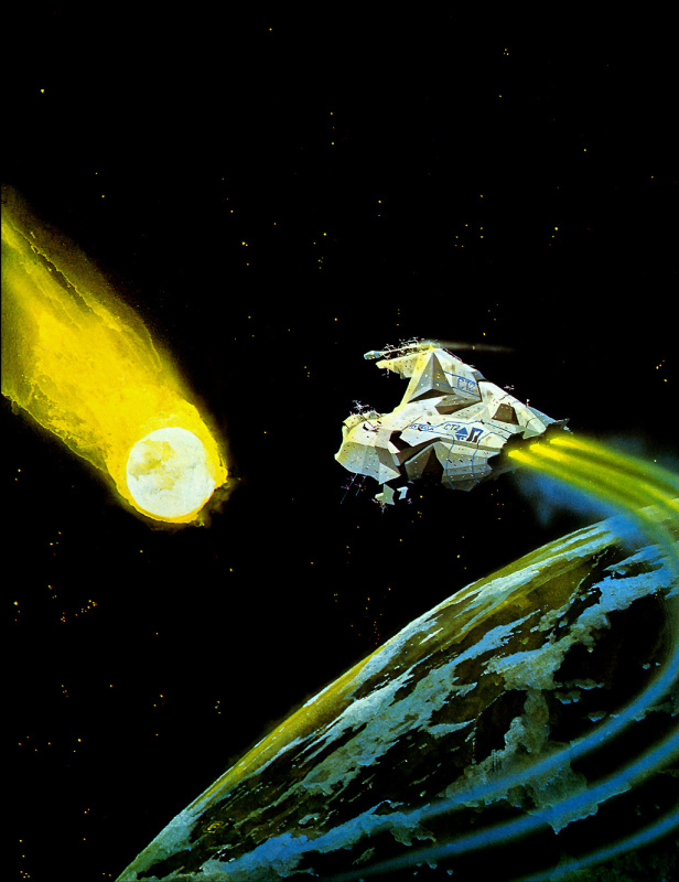 Крис Фосс. Метеорит