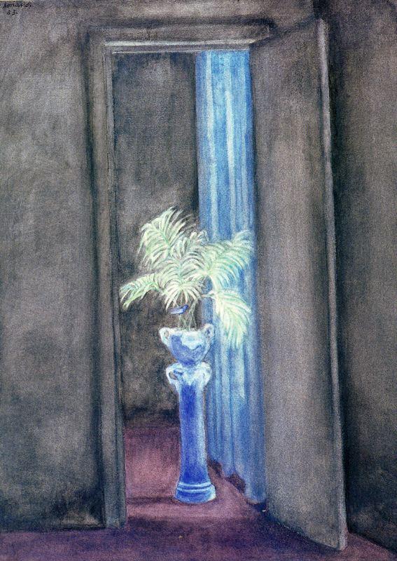 Хуан Сориано. Ваза с цветами