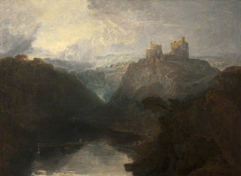 Joseph Mallord William Turner. Castle Cilgerran, Pembrokeshire