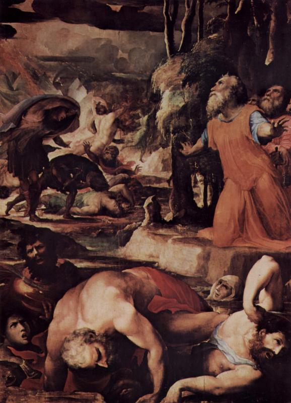 Domenico Beccafumi. The punishment of hell fire
