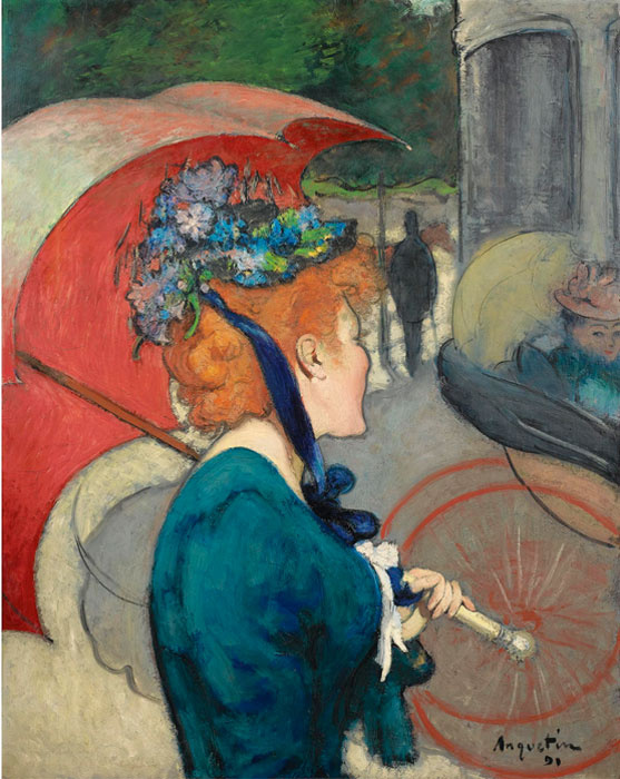 Луи Анкетен. Woman with Umbrella