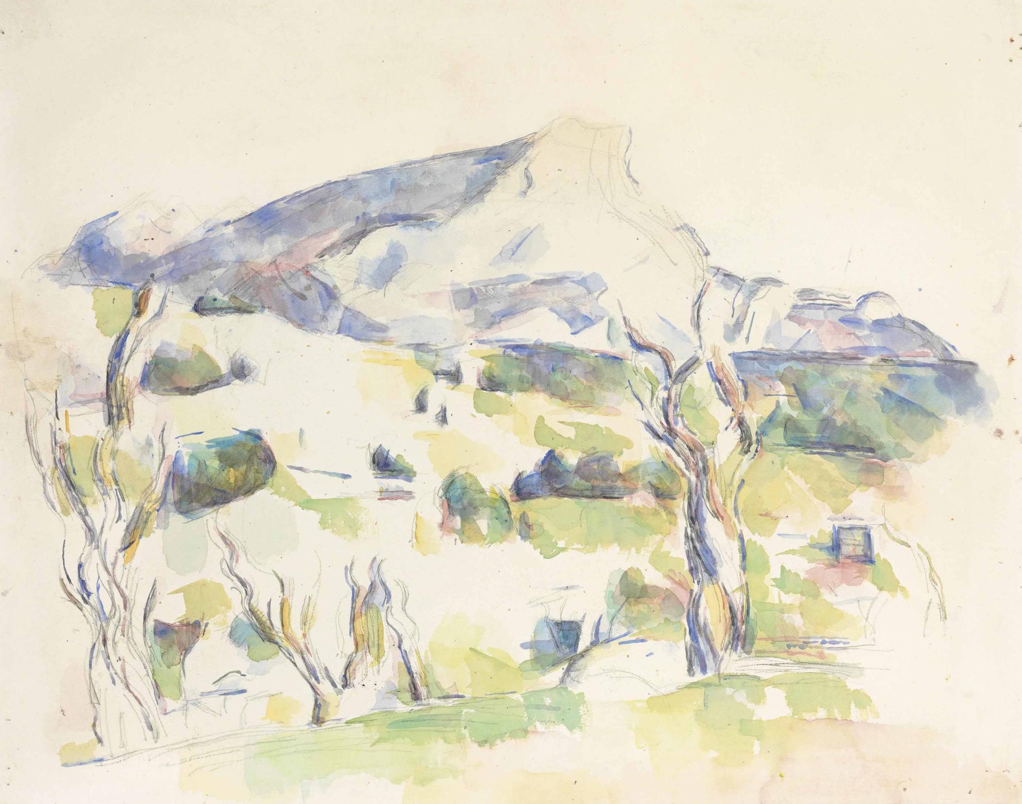 Поль Сезанн. Гора Сент-Виктуар со стороны Lauves