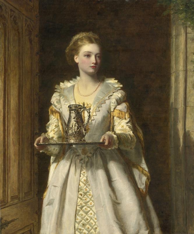 William Frayth Powell UK 1819-1909. Gabriel d'Estre. 1869