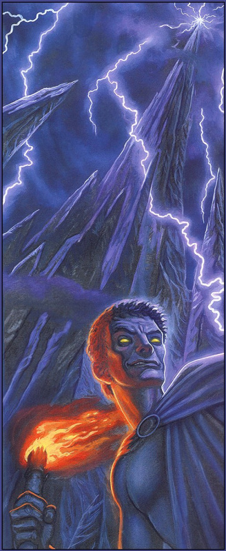 Пол Кидби. Огонь и молния