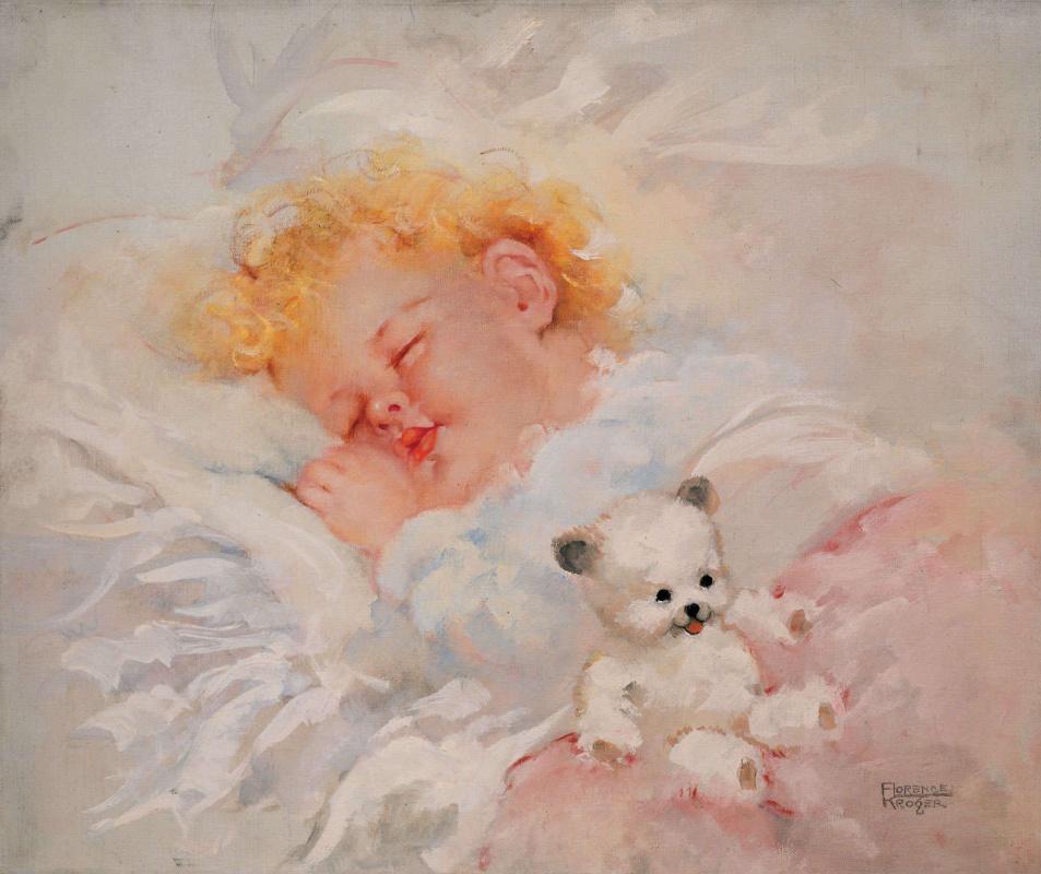 Флоренс  Крогер. Спящий ребенок