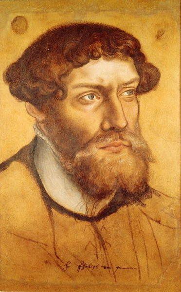 Лукас Кранах Младший. Портрет Филиппа І, герцога Померанского