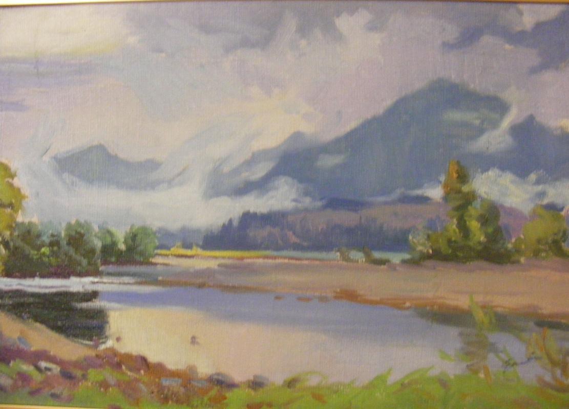 Yosif Josifovich Garani. The mountains and the fog